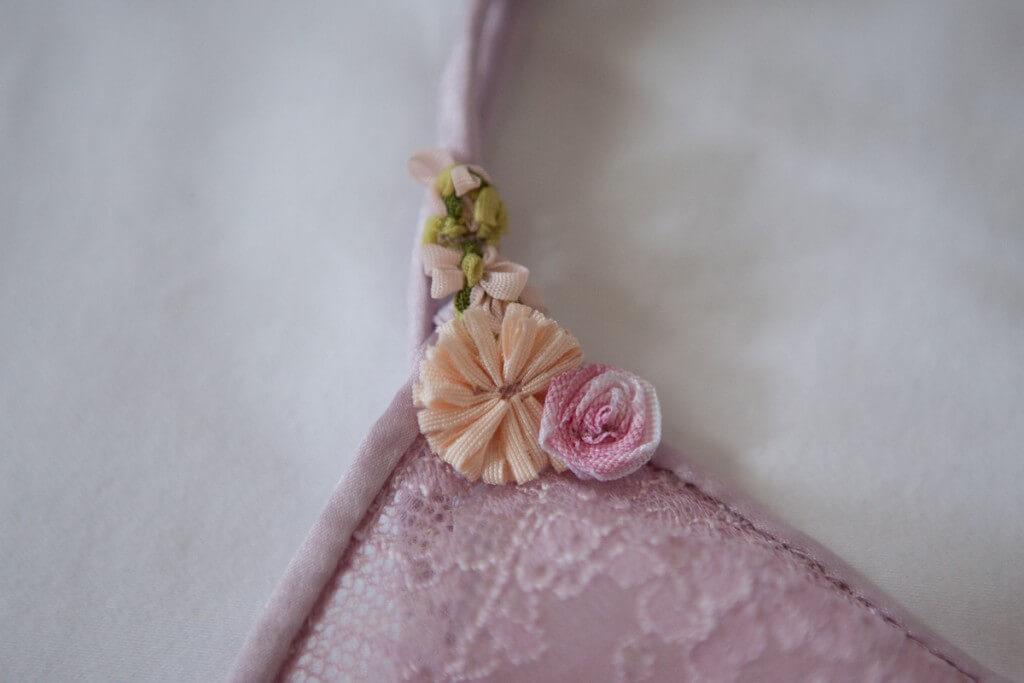 Ribbonwork detailing