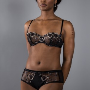 Lingerie Review: Chantelle 'Palais Royal' Demi Bra & Hipster