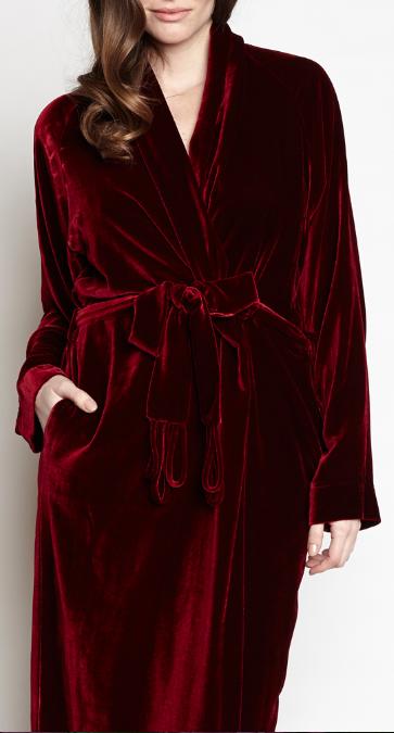 Christine Lingerie - Diva Velvet Robe