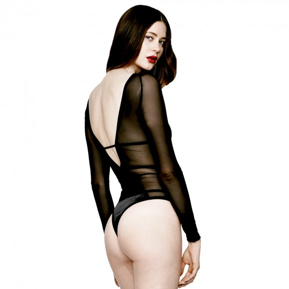 Chromat Pentagram Bodysuit Back