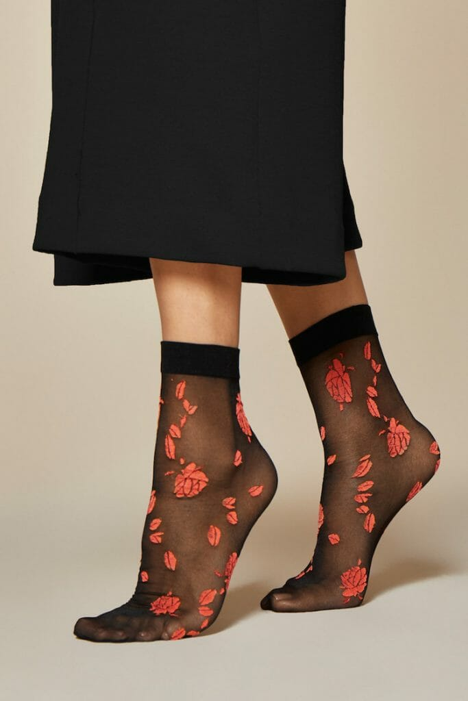 Fiore Ciambelle Patterned Socks