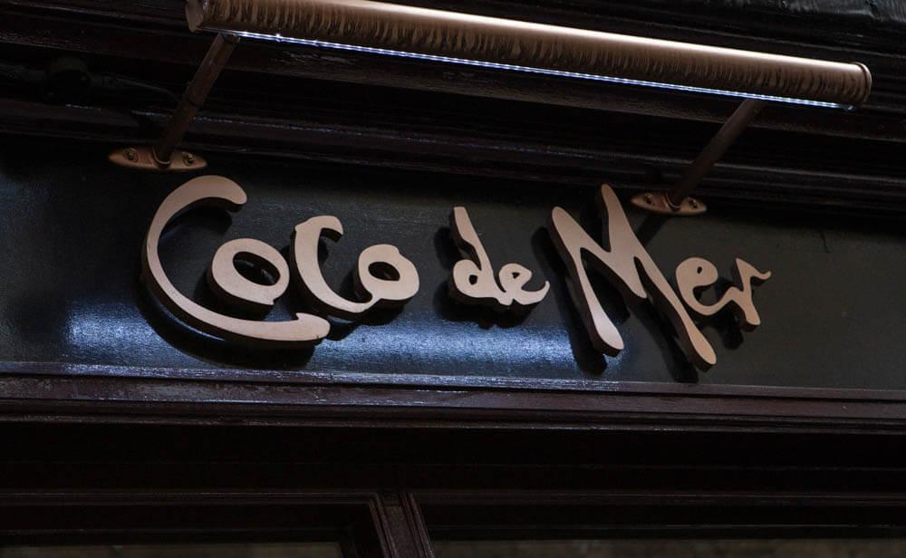 Coco De Mer Sign