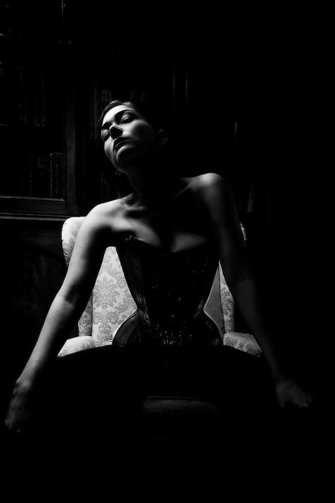 Corset: Crikey Aphrodite | Model: Victoria Dagger | Photo © Sparklewren