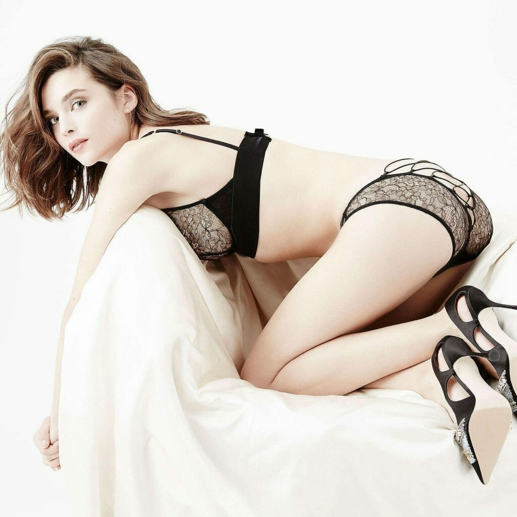 Damaris Black Lace Lingerie