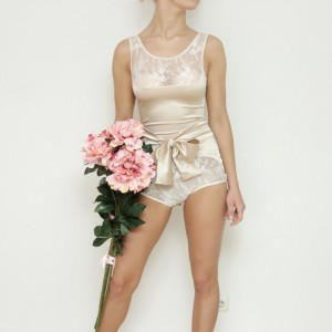 Lingerie of the Week: DDSLL Girls Satin Bodysuit