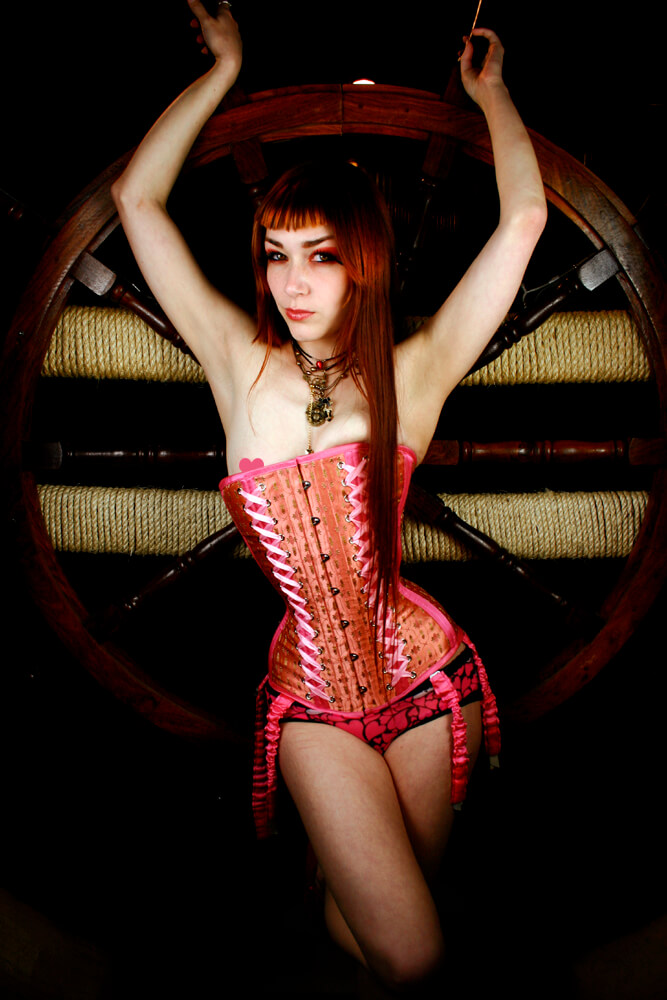 "Dark Garden ""Victorian"" corset 