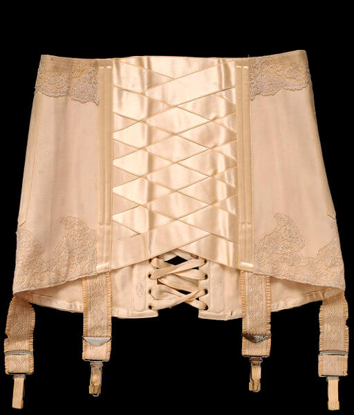 Debenham and Freebody Corset 1914. V&A Collection