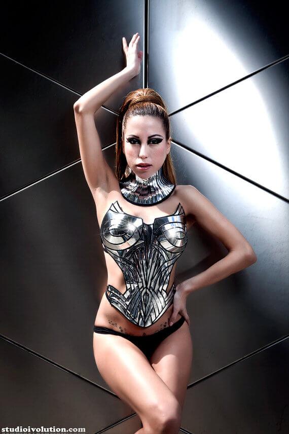 Divamp Metropolis corset