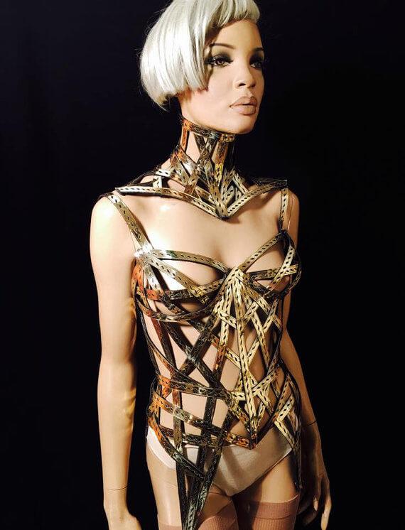 Divamp cage corset
