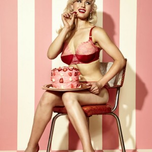 Dottie's Delights S/S 2016: Sweet & Sassy Pin-Up Lingerie