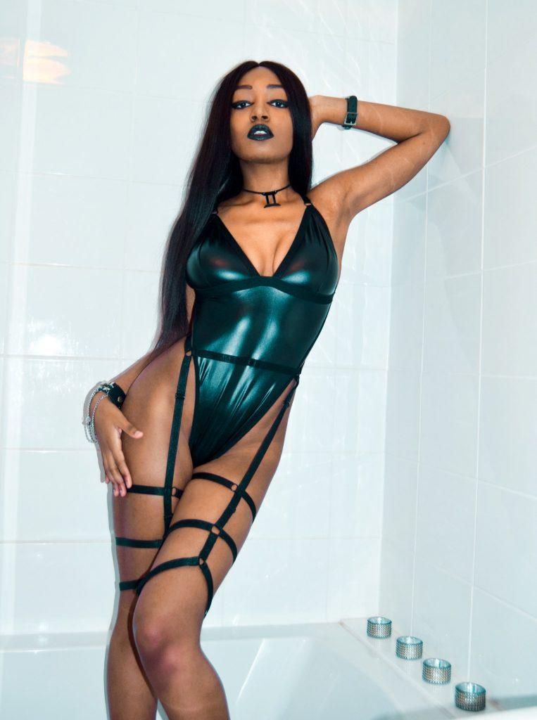Yasmin Benoit, asexual lingerie model