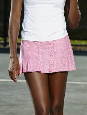 Python Flutter Skirt, $56