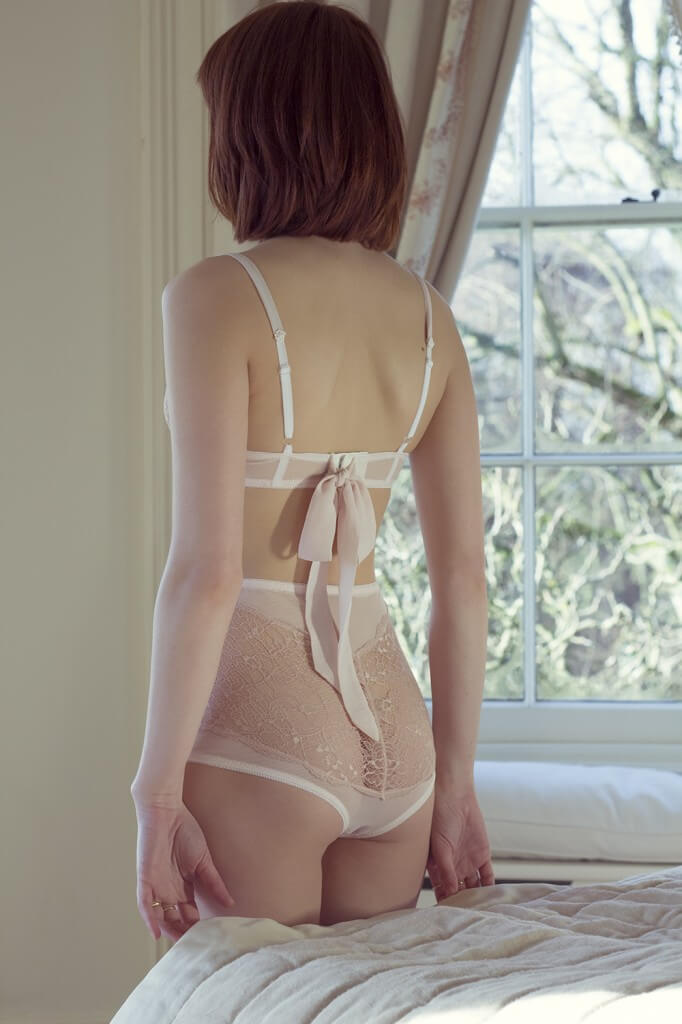 Emily High Waist Knickers and Bra