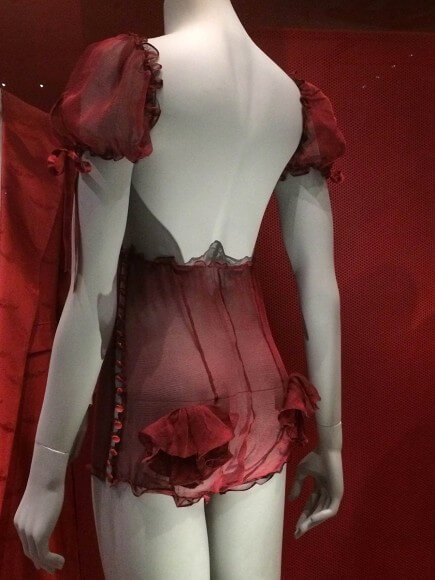 Ensemble by Strumpet & Pink. Taken at the Victoria and Albert Museum. Photo by Ruth Schechner