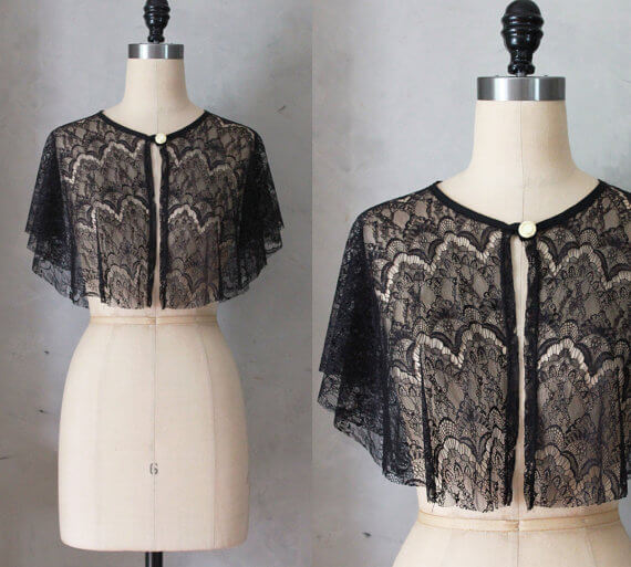 Fleet Collection - Lace Bolero via etsy