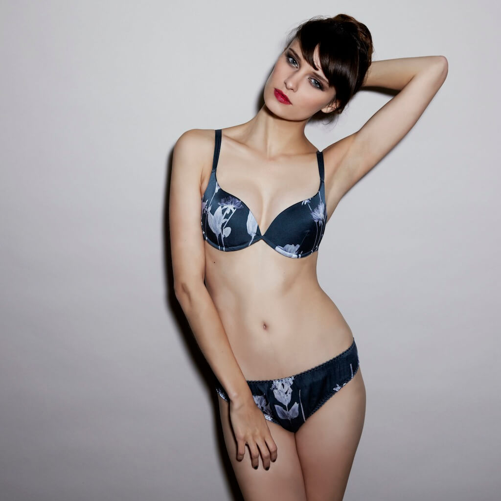 Fleur of England Geisha padded plunge and brief