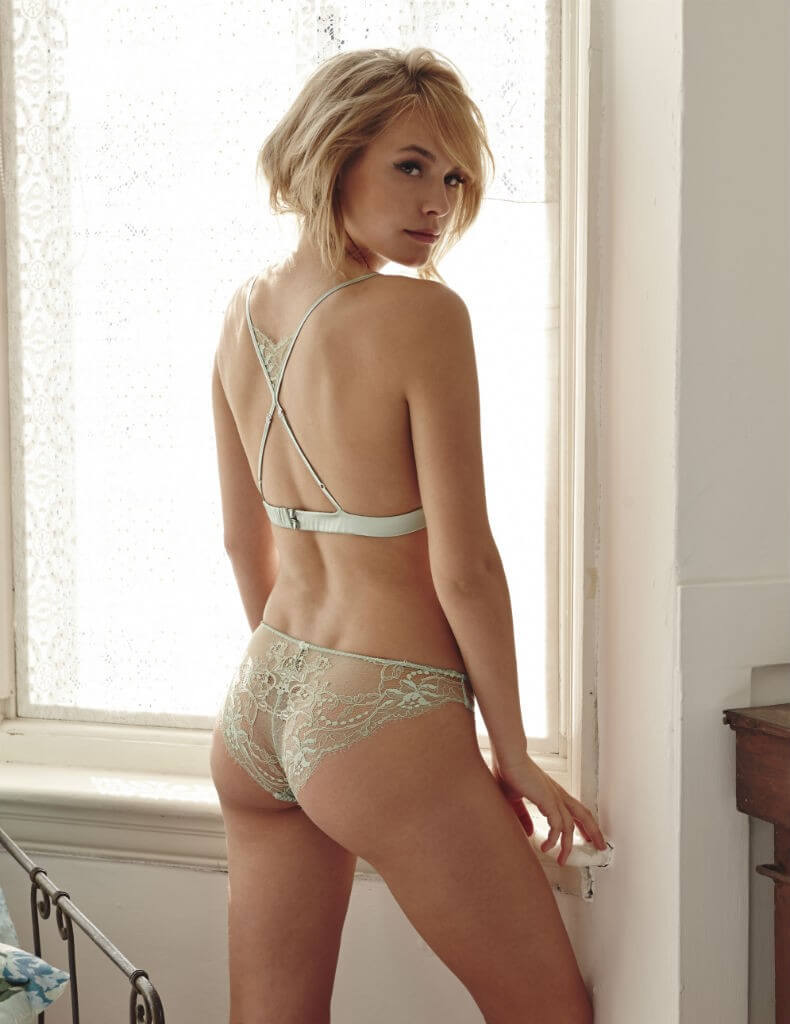 Fleur of England SS16 Mint Boudoir Bra and Brief back