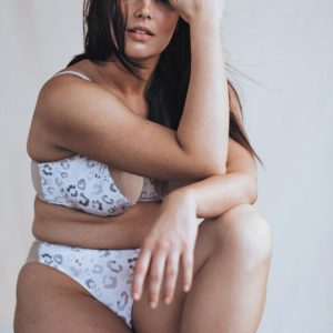 Pretty Plus: Candice Huffine x Fortnight Lingerie Collaboration