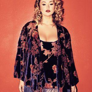 Winter Lingerie Trend: Velvet Devoré Loungewear