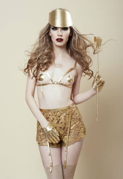 Fraulein Kink gold python