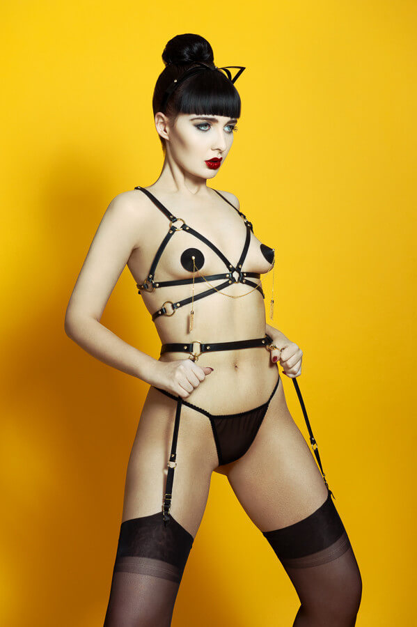 Fraulein Kink Double Chain Pasties