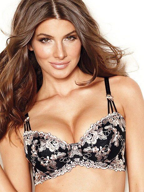 Frederick's of Hollywood Embroidered Liquid Lift Balconette Bra - $37.50