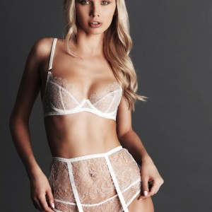 Fréolic: Beautifully Textured Lace Lingerie From London