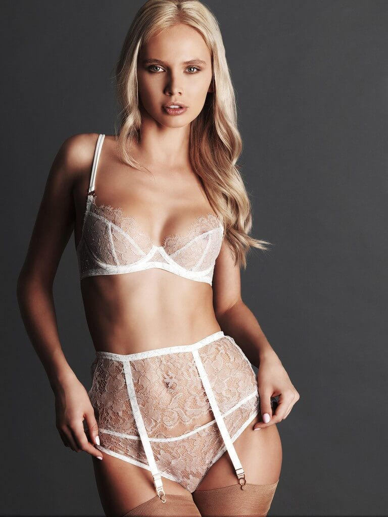 Fr 233 Olic Beautifully Textured Lace Lingerie From London