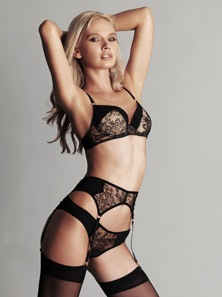Fréolic: Beautifully Textured Lace Lingerie From London ...