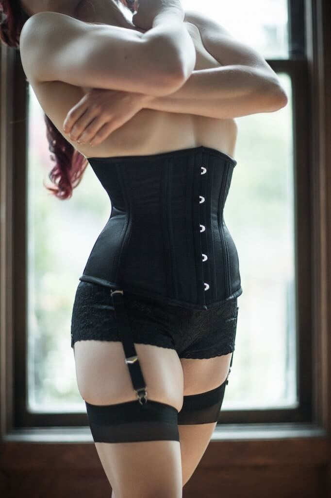Photo © Joel Aron - Model: Dwoira Galilea - Corset: Dark Garden