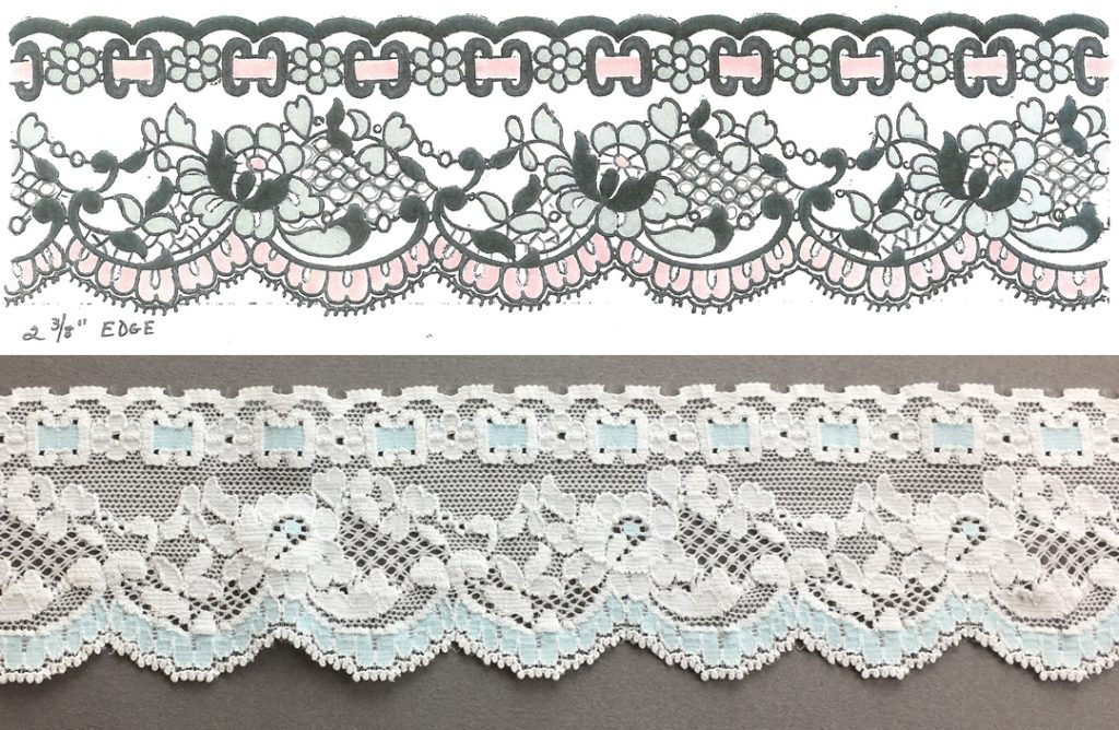 Hanky Panky Lace and Sketch