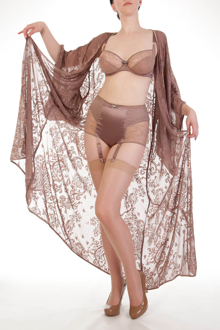 Harlow and Fox - Sophia Floor Length Robe