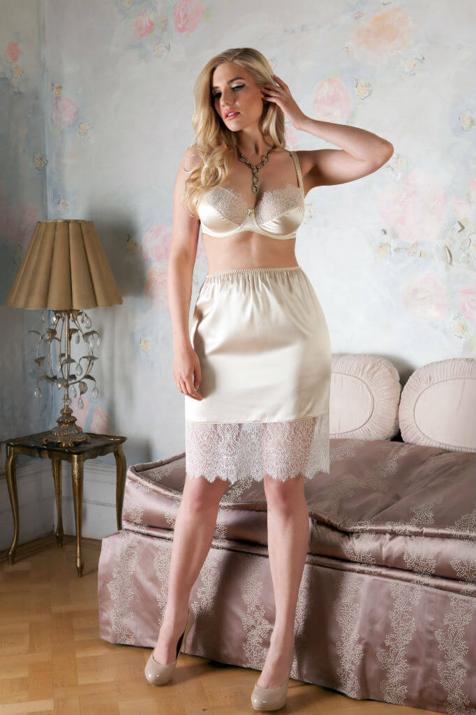 Harlow and Fox Eleanor Almond slip