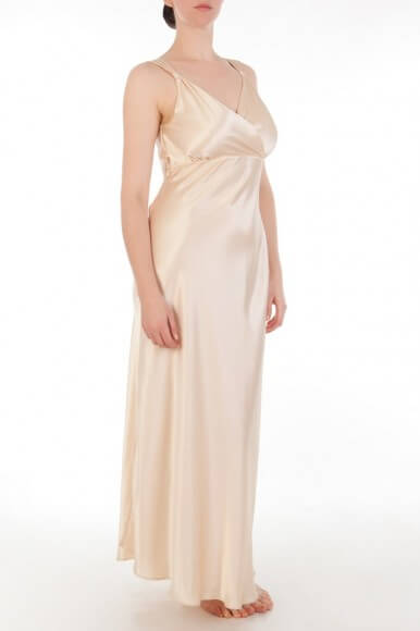 Harlow and Fox Eleanor Draped Back Gown - $585