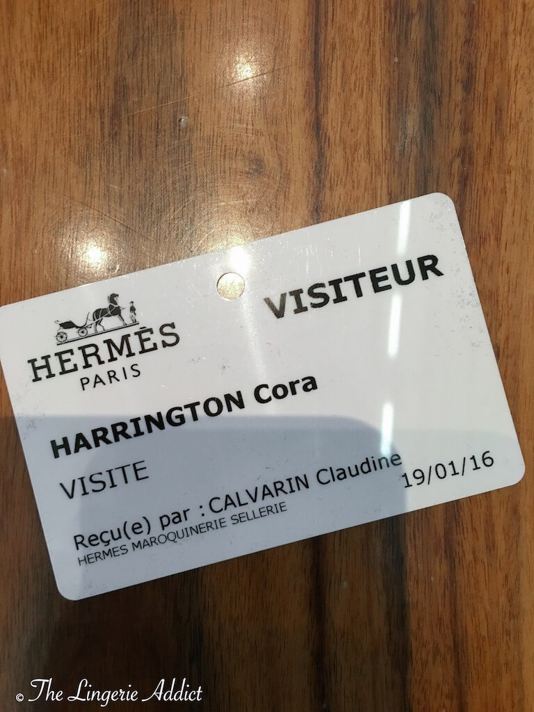 Hermes Visitor Pass