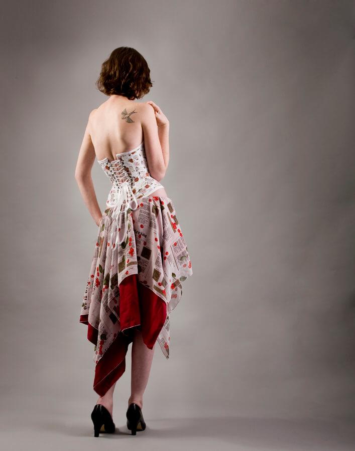 Photo © Mariah Carle for Pop Antique Model: Tressa FM