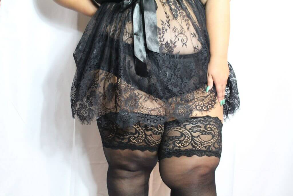 2b241c27d25fd Finally! Plus Size Stockings Up to 4X: A Glamory Hosiery Review