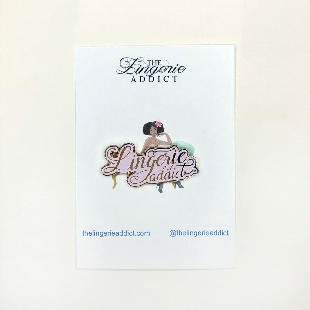 The Lingerie Addict Enamel Pin