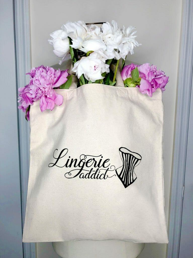 The Lingerie Addict Canvas Tote Bag