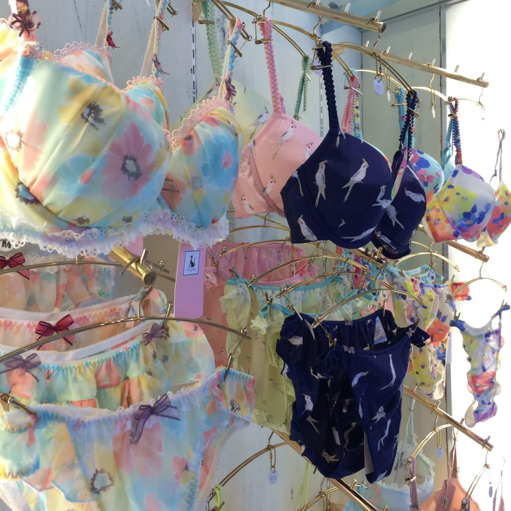 Kaori's Closet Tokyo in NYC. Japanese Lingerie.