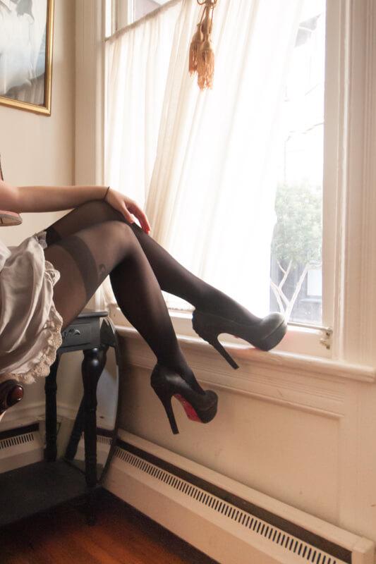 Fiore Hosiery Apriel 40 denier tights
