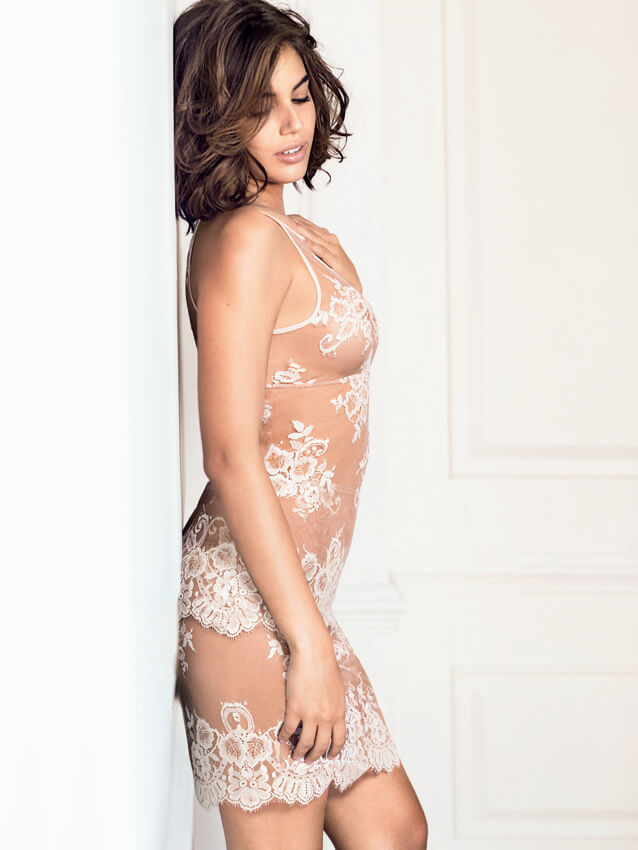 Intimissimi lace tank and skirt