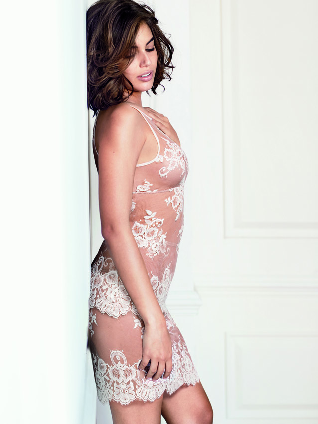 Intimissimi-lace-tank-and-skirt