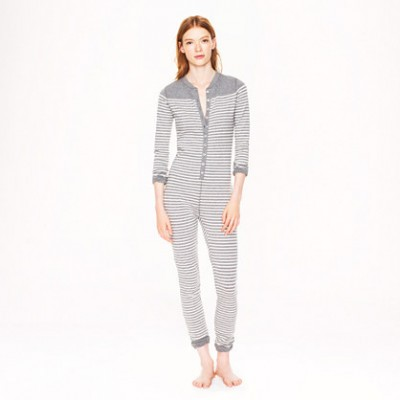 J Crew Union Suit in stripe $59.50