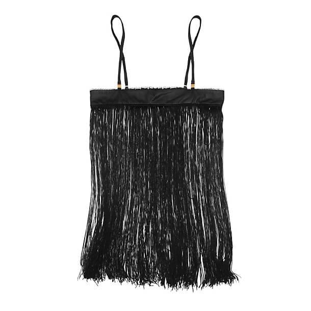 Jenny Packham - Leather Short Fringe Slip
