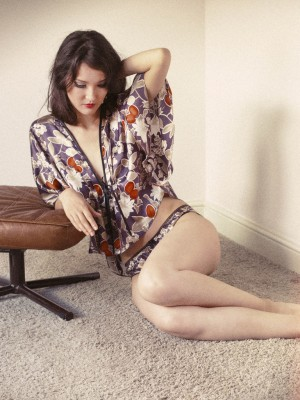 Jessica Bed Jacket by Ayten Gasson