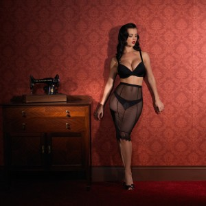 Lingerie Review: Ava Corsetry's Lola Babydoll and Lola Skirt