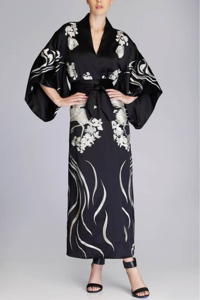 Josie Natori Couture Sarimanok Robe - $2,900 (on sale for $2,030)