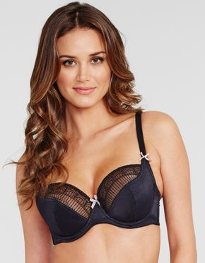 Just Peachy By Figleaves.com Sadie Underwired Bra - $28.00