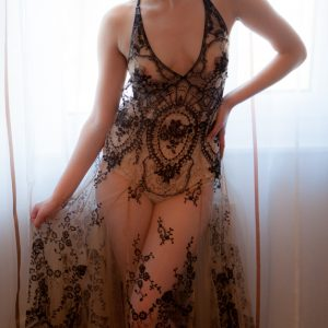 Luxury Lingerie Review: I.D. Sarrieri 'La Naissance De Venus' Gown